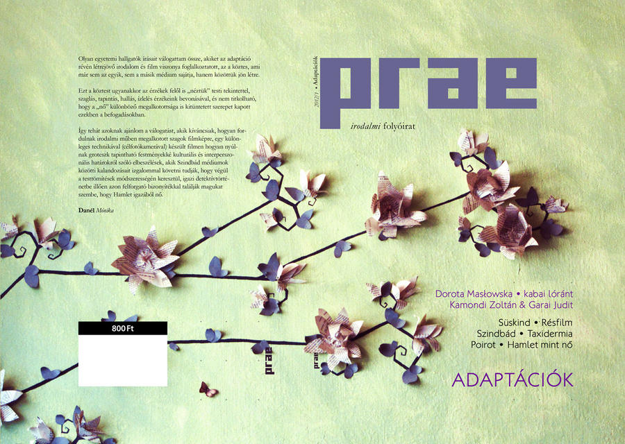 Prae Magazine - Adaptations issue by gaborcsigas