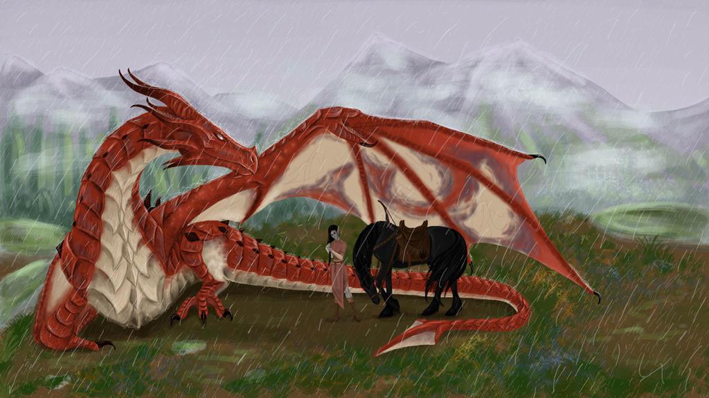 Skyrim: Odahviing by Rain-shade