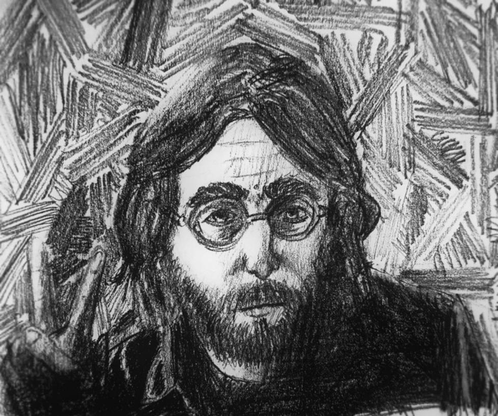 John Lennon by SwedishLad