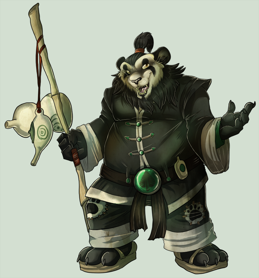 Chen Stormstout by MintyMaguire