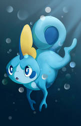 Sobble // Protecc by Winterfaux