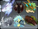 Dragon Mount Adopts // OPEN