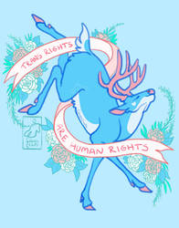 Blue Buck says Trans Rights