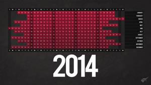 2014 Calendar / Desktop Wallpaper