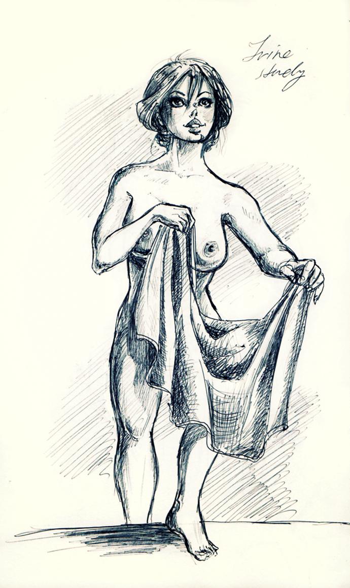 After the bath by Kikifuko