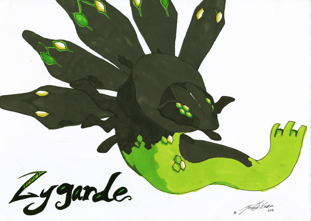 Legendary Pokemon Zygarde Coloring Pages Images | Pokemon ...