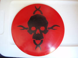 Skull Disc by ginshun