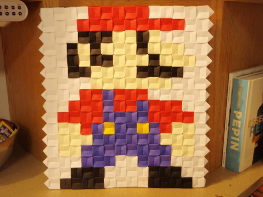 Pixel unit Mario by ginshun