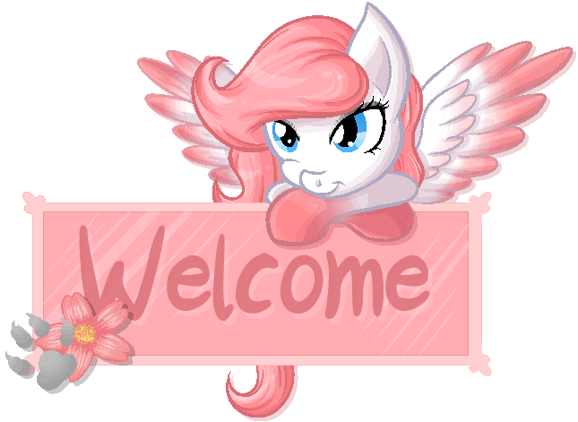 Sakura Welcome Sign [commission] by Blitzkatze