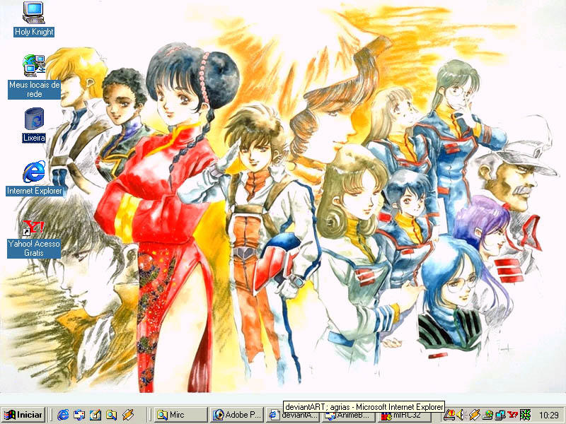 My Macross Desktop by agrias
