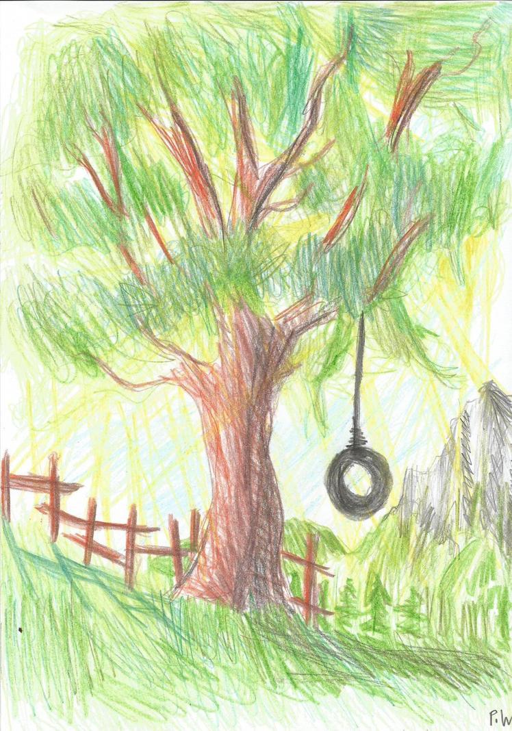 Tree By Pixel224444 On Deviantart Johnnyfivecom