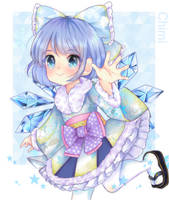 Winter mod cirno by sailormagical
