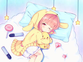 sleppy Uzuki by sailormagical