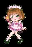 Pinky maid sakura by sailormagical