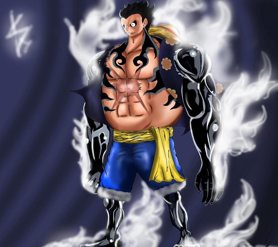 Luffy gear fourth, bou... One Piece Wallpaper Luffy Gear Fourth