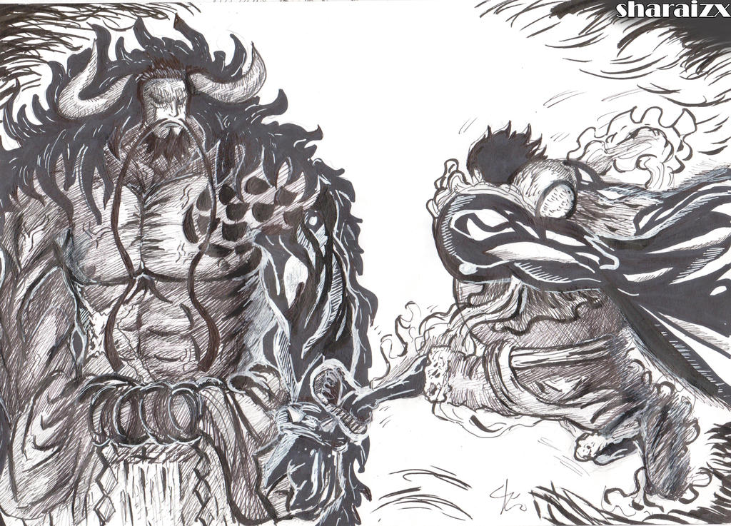 One Piece Manga Luffy Vs Kaido