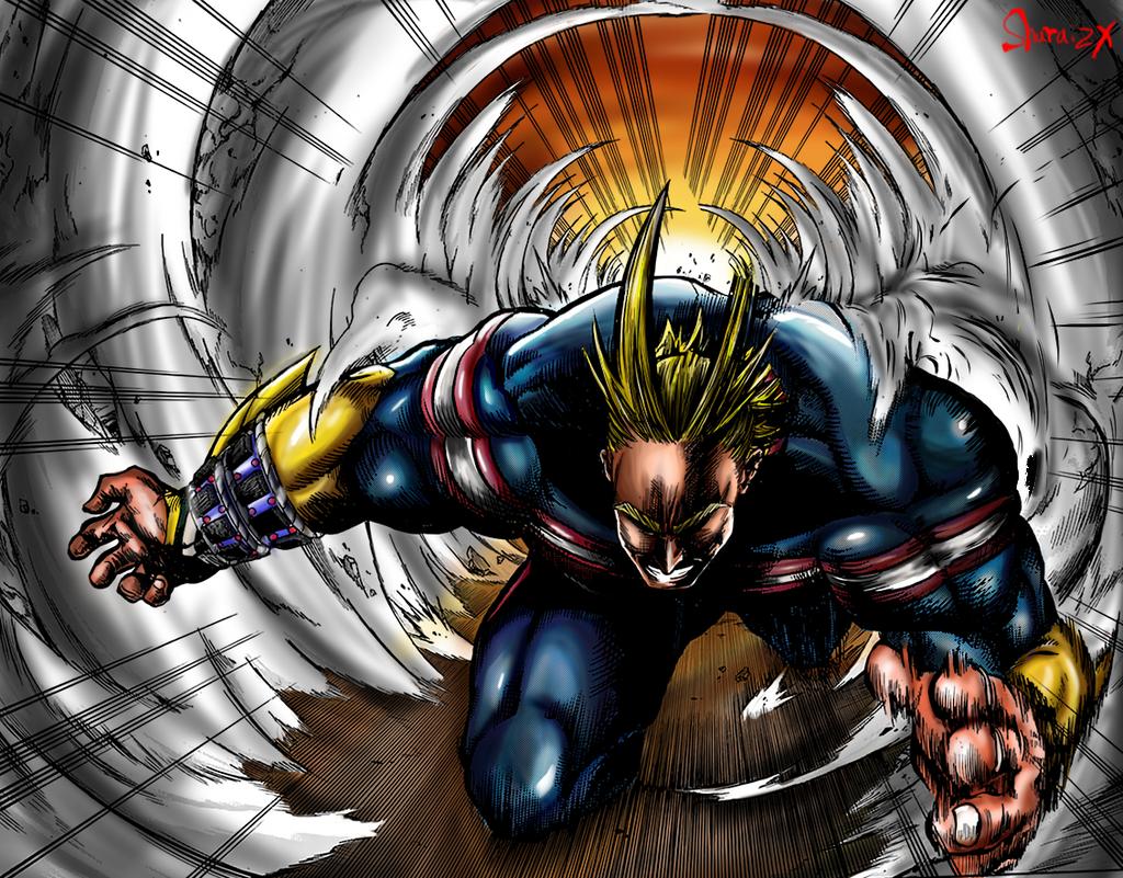 Allmight My hero Academia by sharaizx on DeviantArt