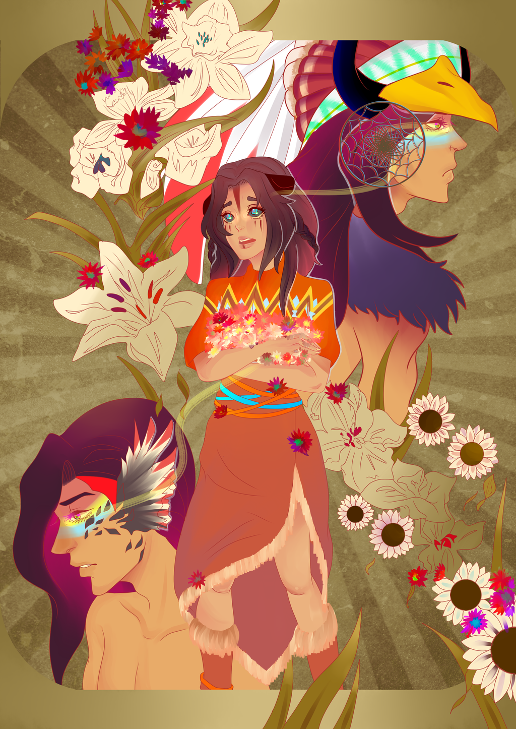 flowers feed the soul by shasuu