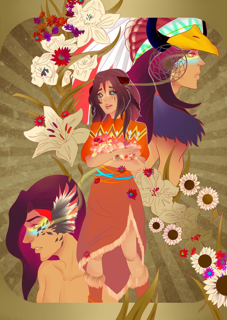 flowers feed the soul by shasuu