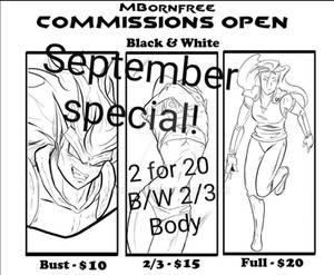 COMMISSION SPECIAL!!!