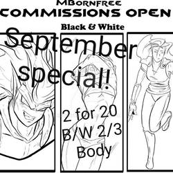 September Commission Special!!!