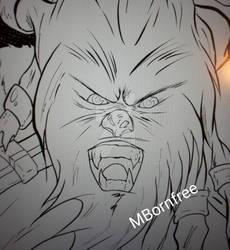 OC Commission - Cha'Luk (line art)