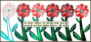 Isa 40:8