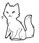 free cat lineart