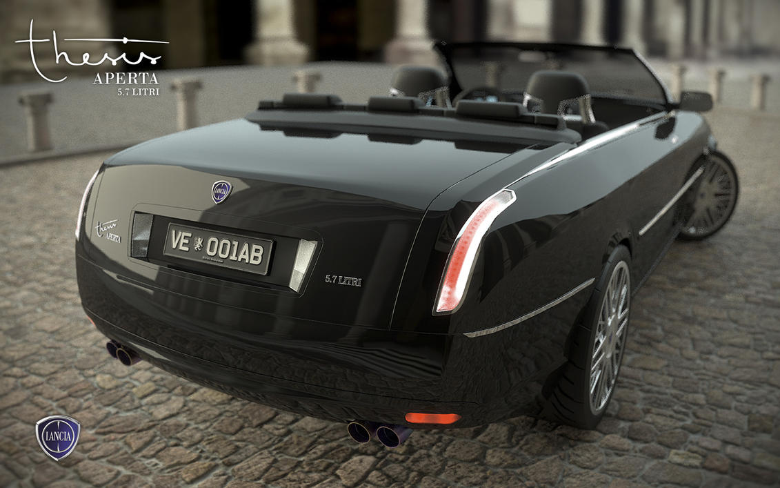 lancia thesis cabrio 03 by andrejtroha on deviantart. Black Bedroom Furniture Sets. Home Design Ideas