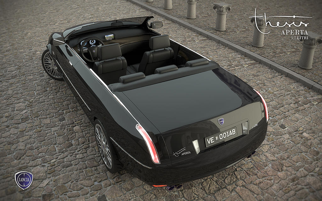 lancia thesis cabrio 10 interior b by andrejtroha on deviantart. Black Bedroom Furniture Sets. Home Design Ideas