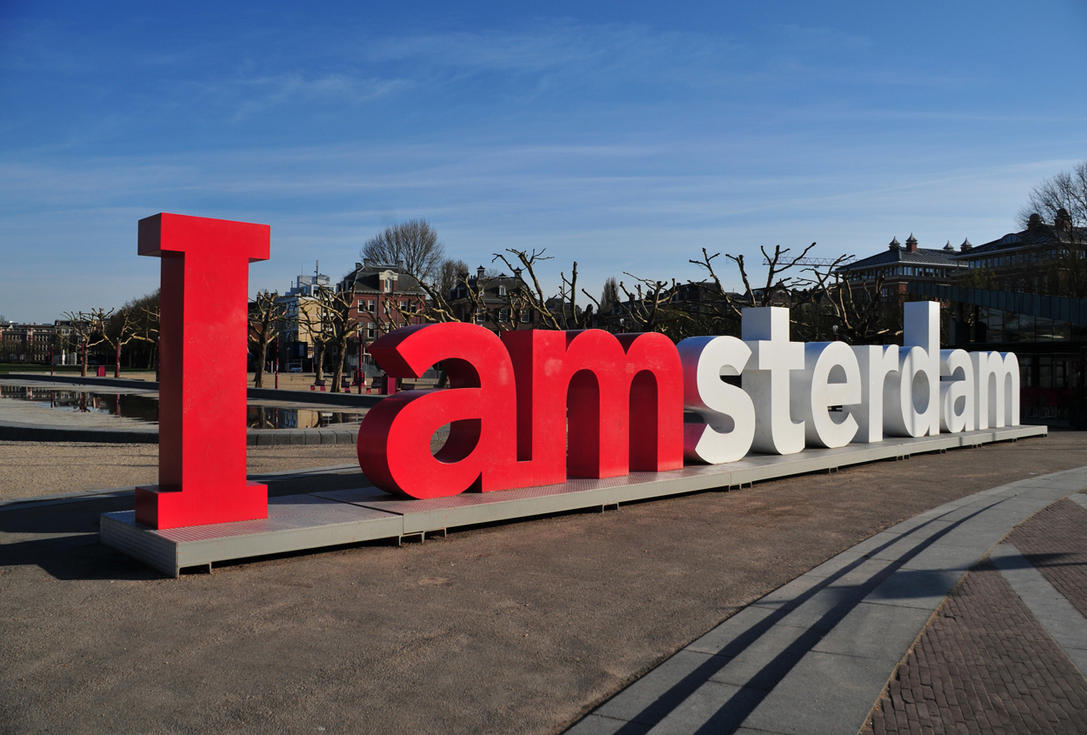I AMsterdam by PlusUltraDesign on DeviantArt