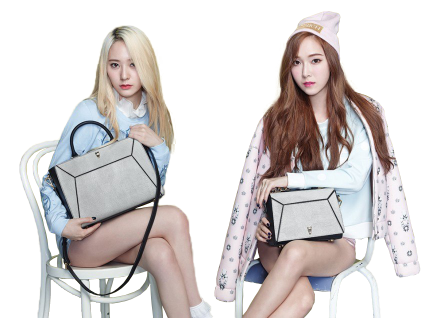 Krystal (f(x)) and Jessica (SNSD) PNG by HoKi97 on DeviantArt F(x) Krystal And Jessica