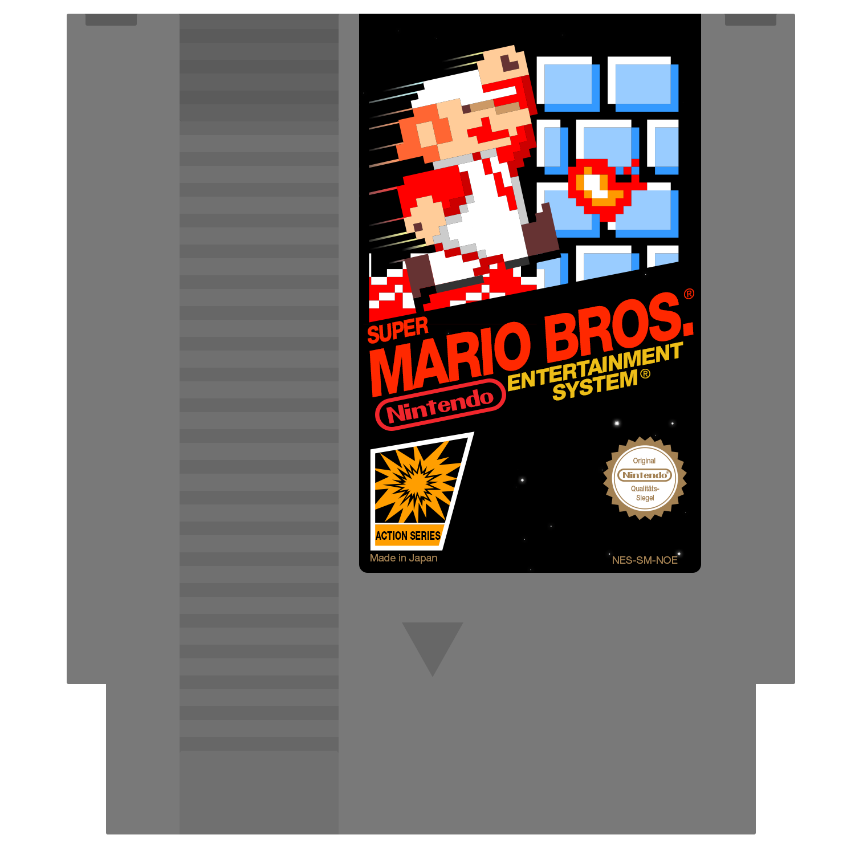 Super Mario Bros Nes Cartridge By Robinle On Deviantart