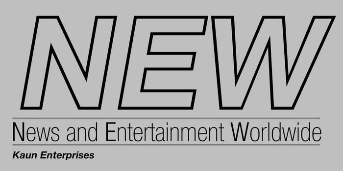'NEW - News and Entertainment Worldwide' Logo
