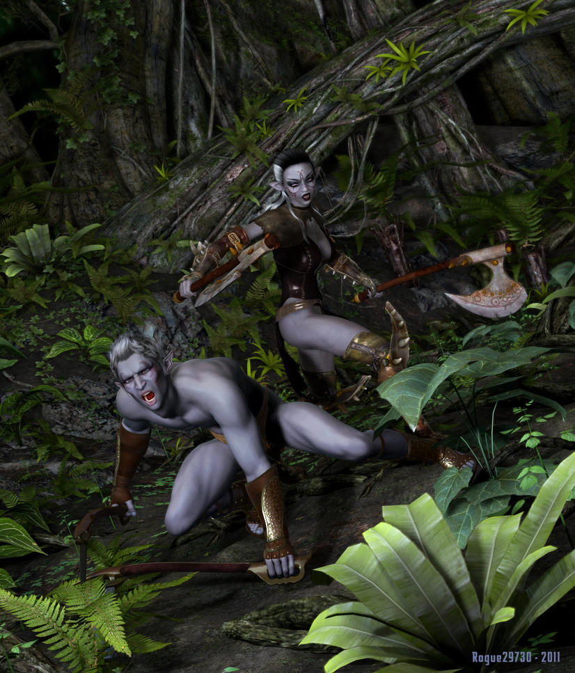 Dark Elves by rogue29730