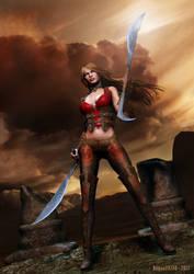 Warrioress by rogue29730