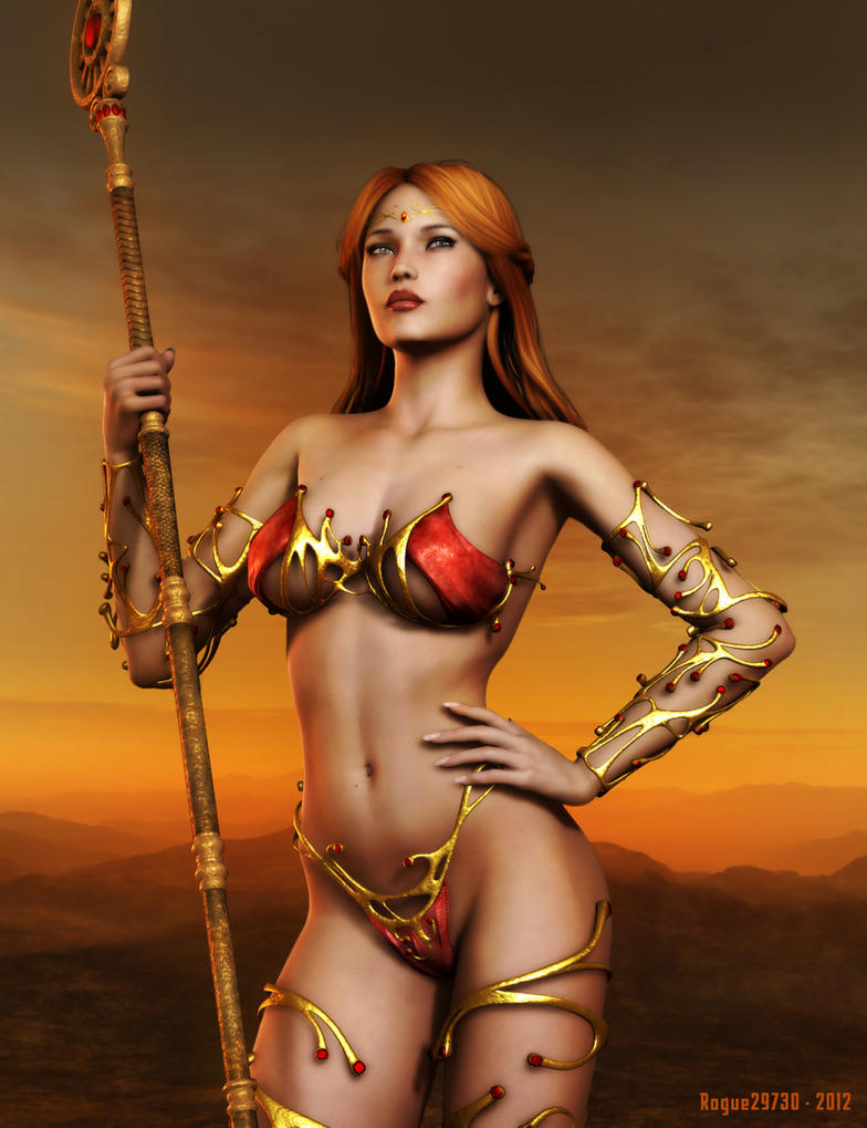 Barbarian Princess by rogue29730 on DeviantArt