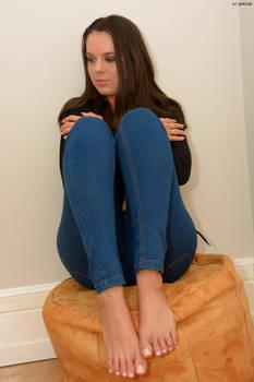 Nikola in Blue Jeans