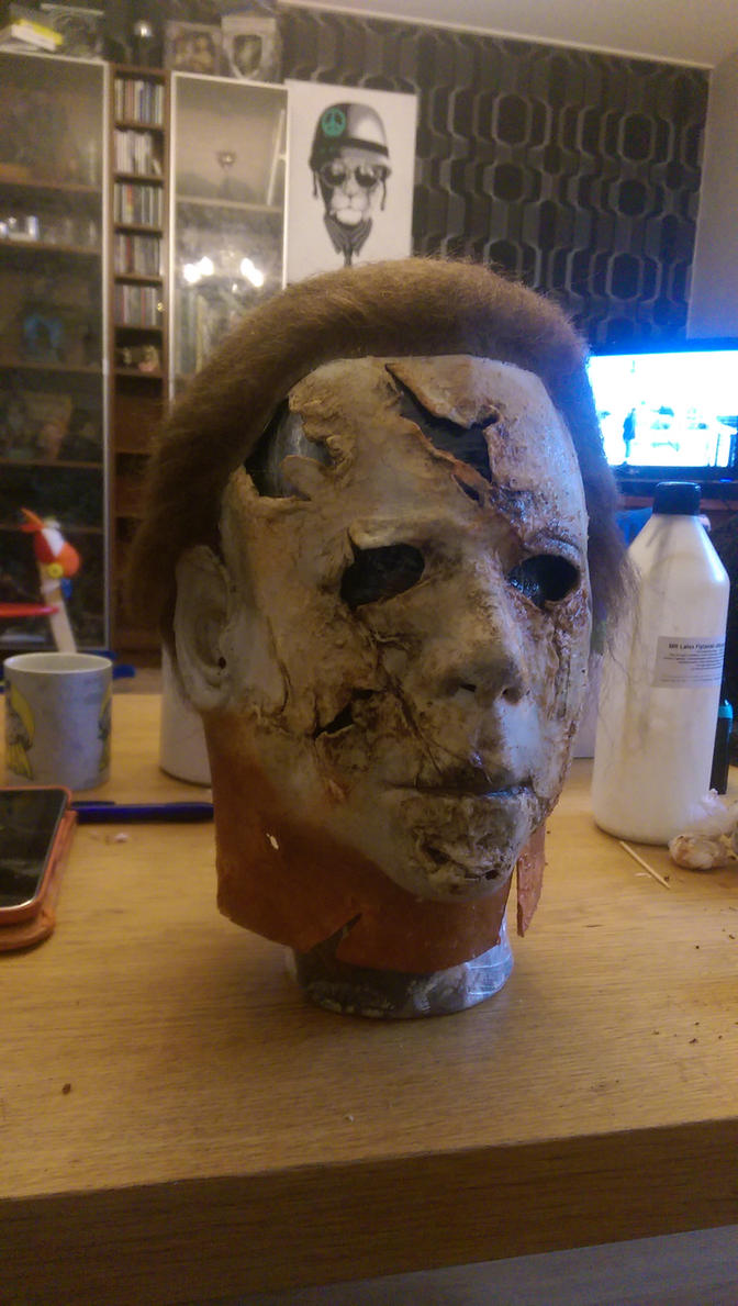 Michael myers mask by urbe