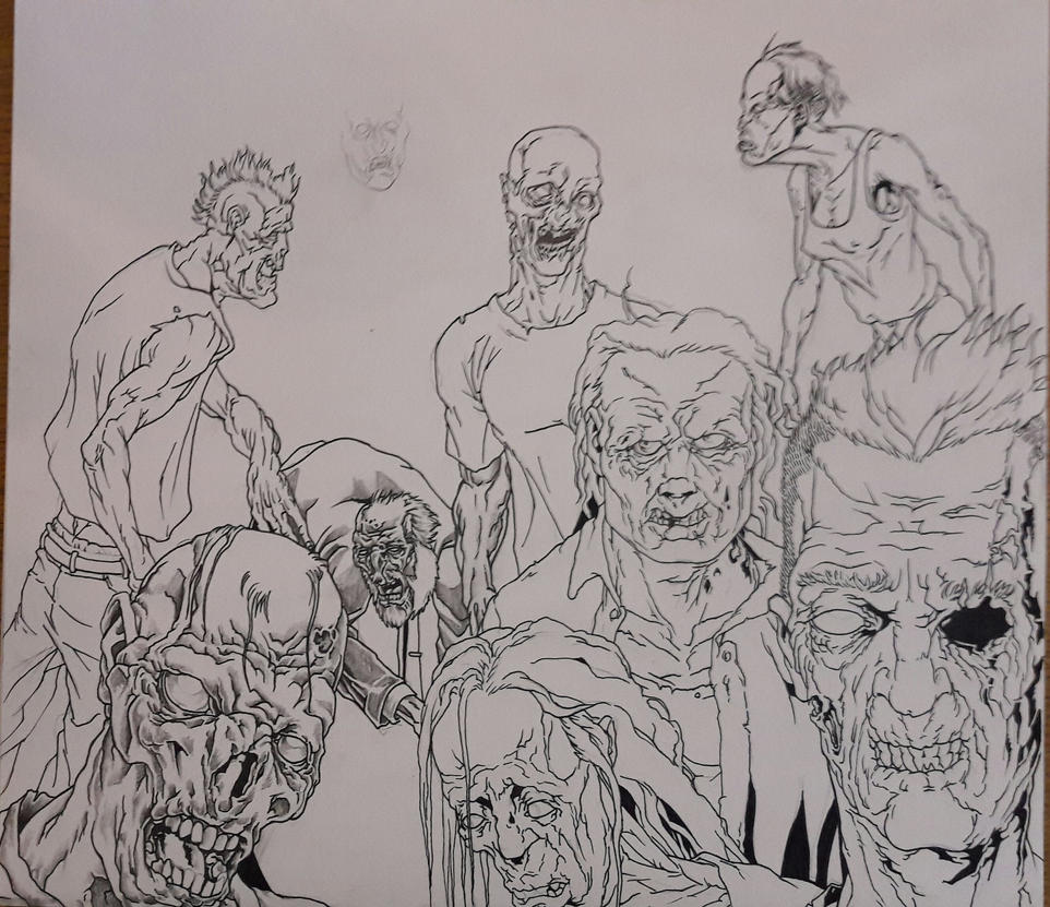 Zombies by urbe