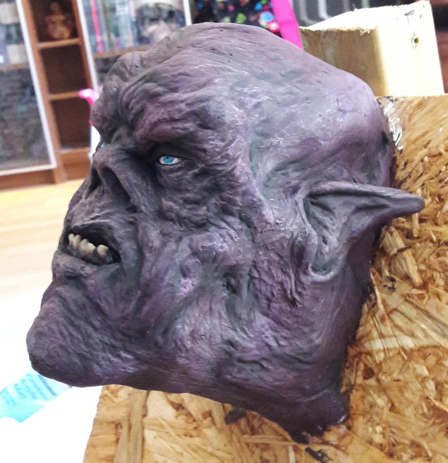 Monster left side by urbe