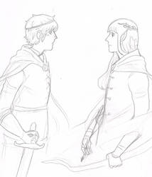 The Two Princes (c. 2012-13) by Maifai