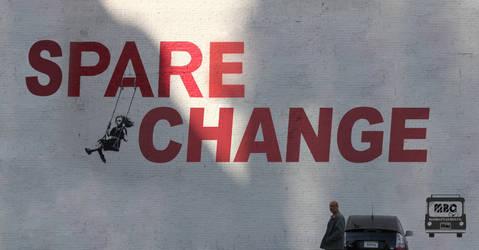 Spare Change poster by RajJawa