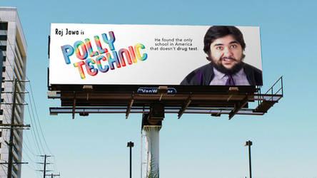 Polly Technic Billboard