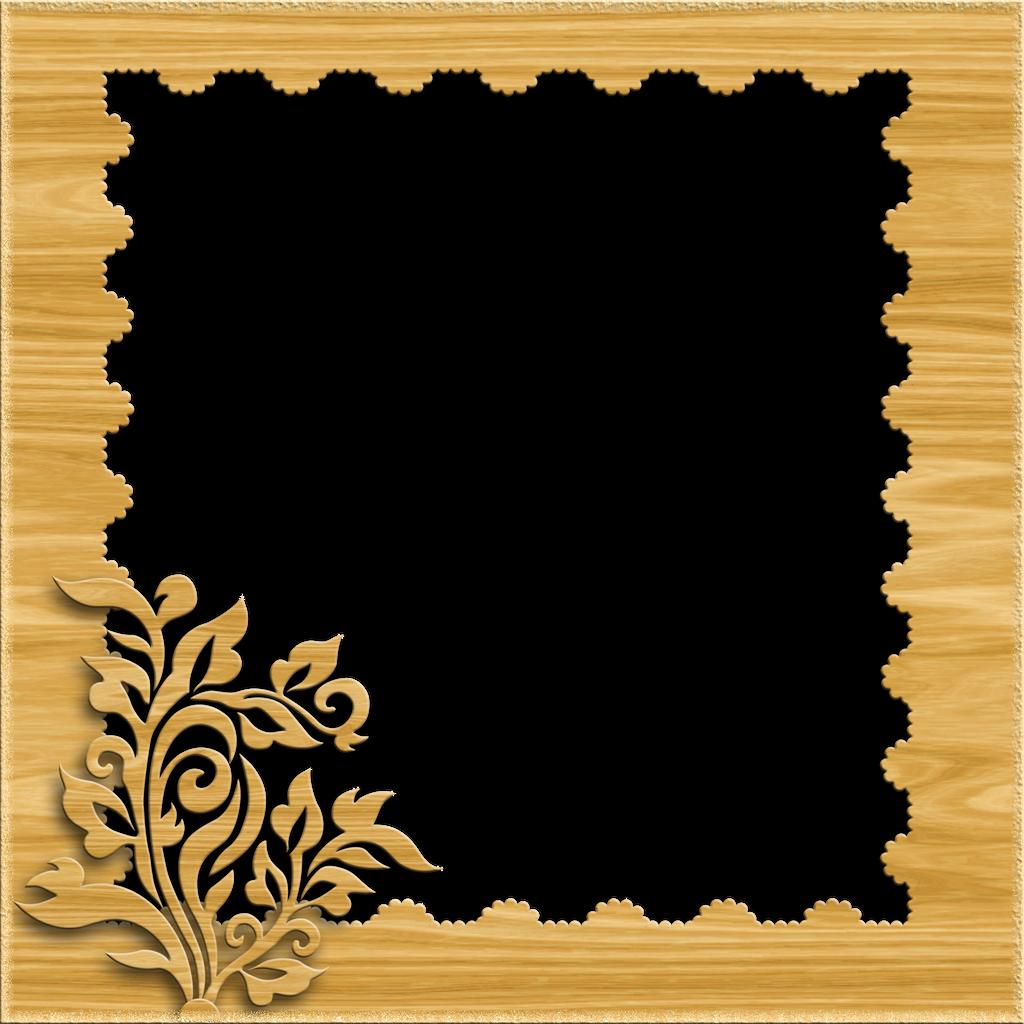 Decorative Frame - Light Wood by PLACID85 on DeviantArt