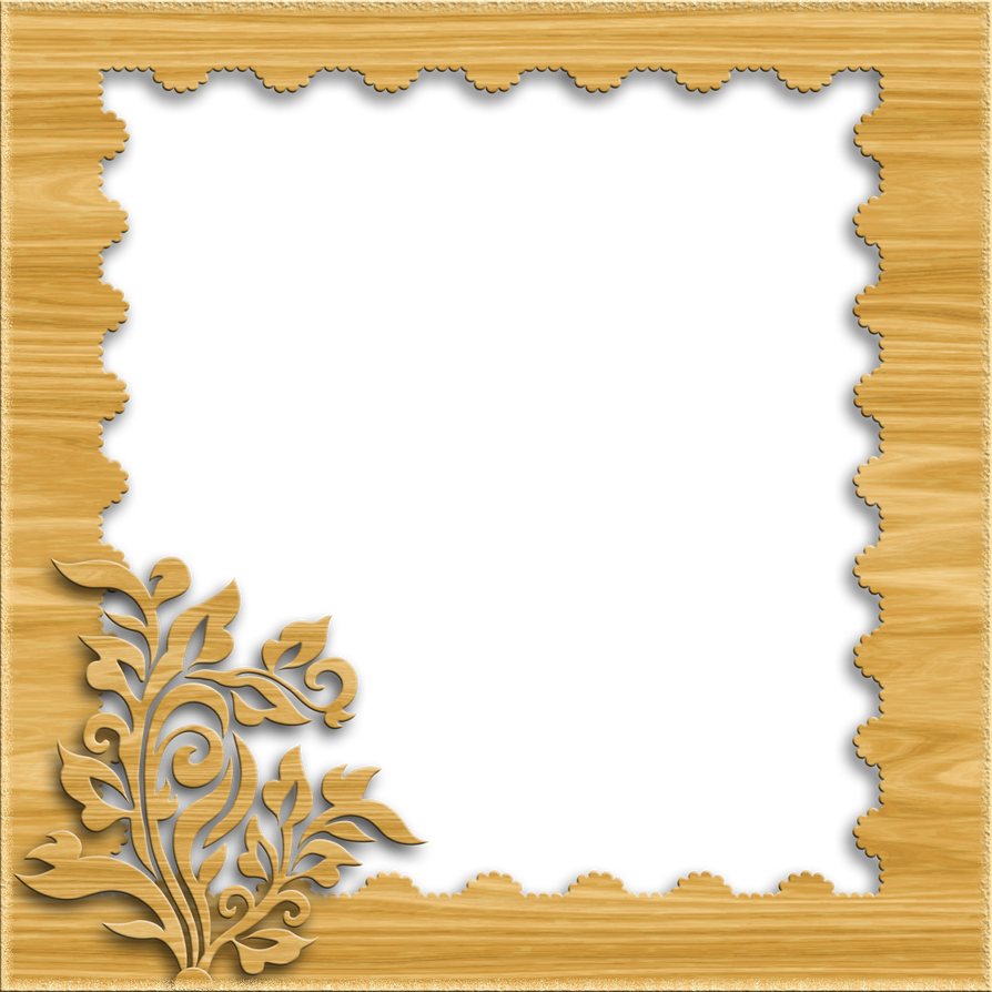 Decorative Frame - Light Wood by PLACID85 on DeviantArt