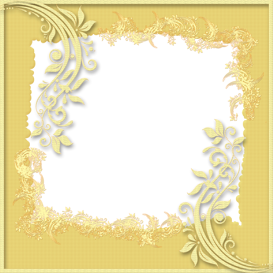 Decorative Frame - Yellow by PLACID85 on DeviantArt