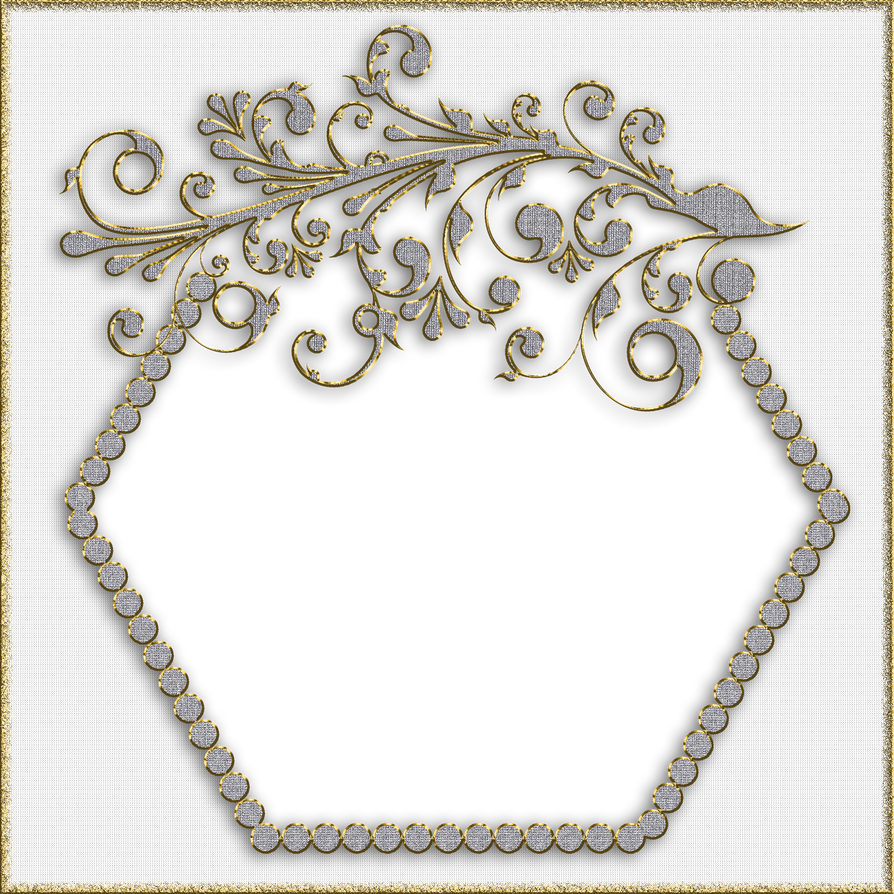 Decorative Frame - Gold and Silver by PLACID85 on DeviantArt