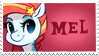 Mel stamp by Doodleshire
