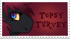 Topsy stamp by Doodleshire